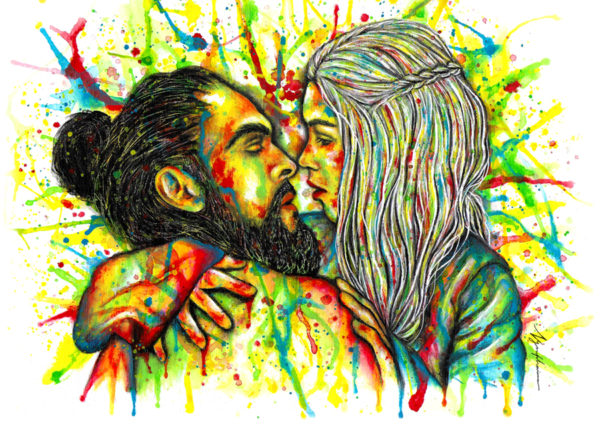 Daenerys & Drogo - Game of Thrones